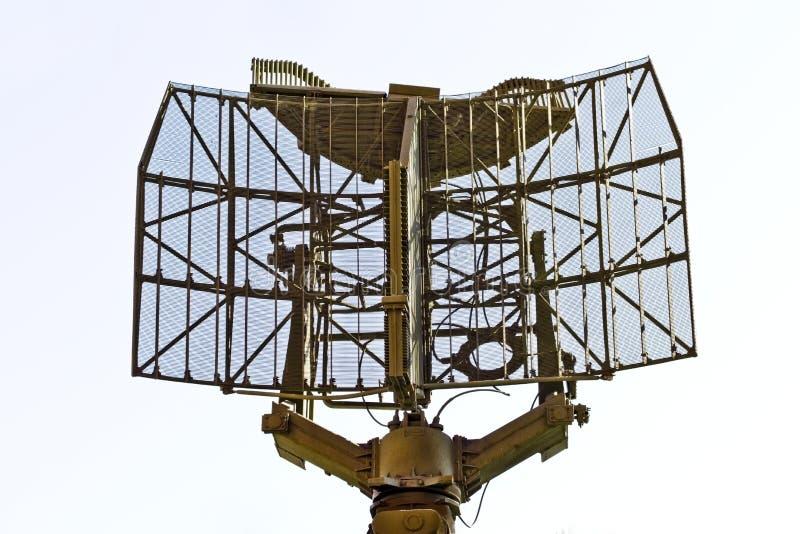 Militär-Sensor getrennt auf Weiß lizenzfreies stockbild