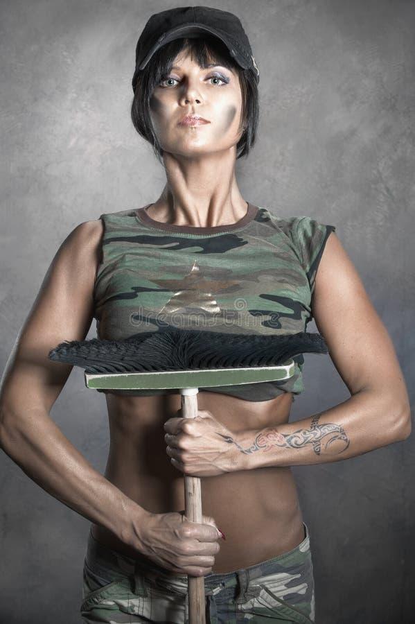 Militär stil arkivfoton