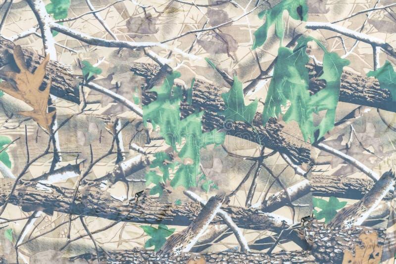 Militär texturkamouflagebakgrund arkivfoto