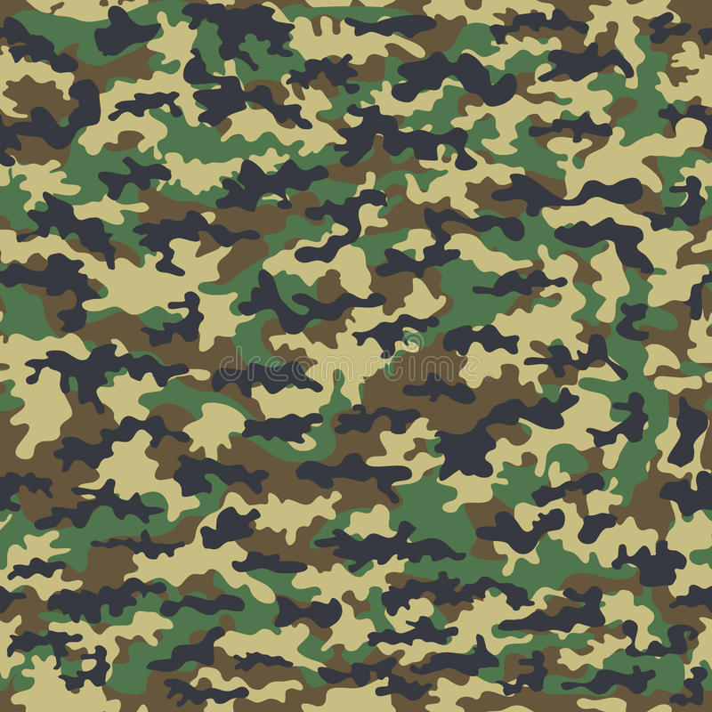 Militär torkduk för sömlös kamouflage av infanteri abstrakt bakgrund också vektor för coreldrawillustration vektor illustrationer