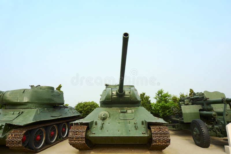 Militärbecken stockfotografie