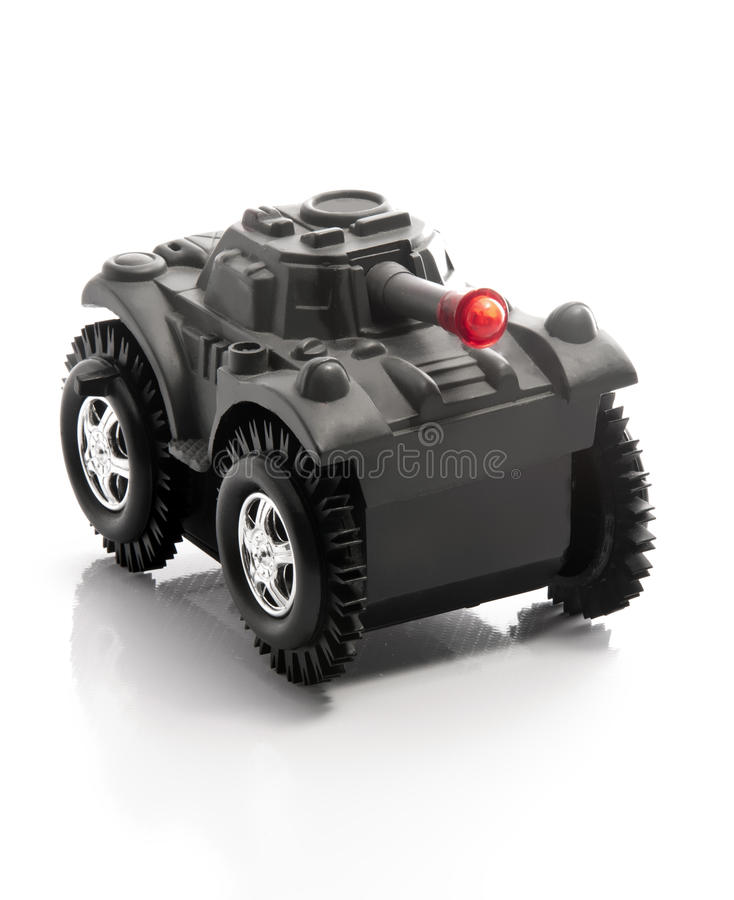 Militärbecken-Spielzeug stockbild