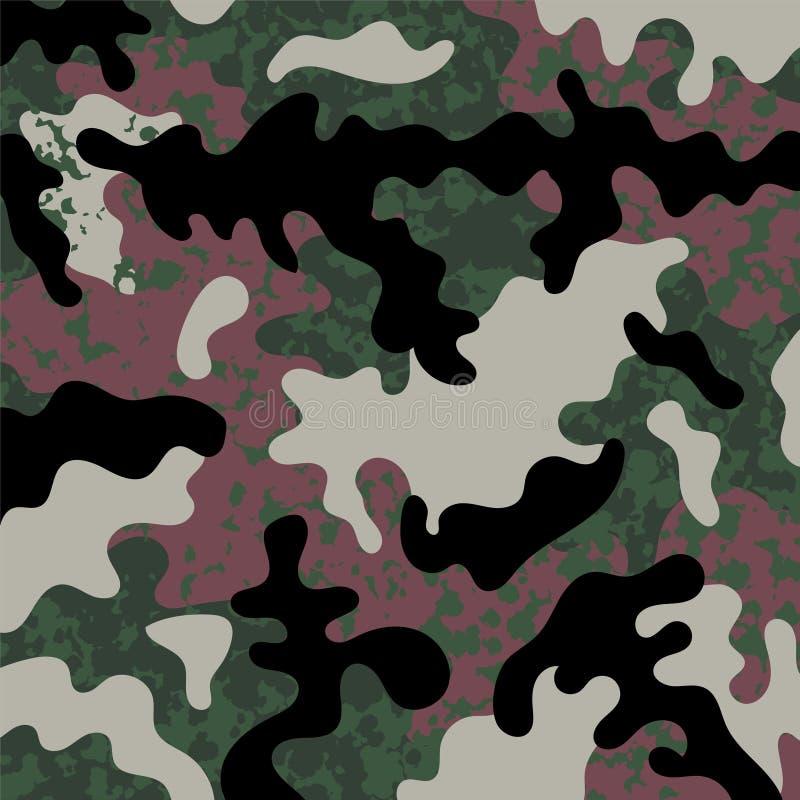 Militärbeschaffenheitsmuster vektor abbildung