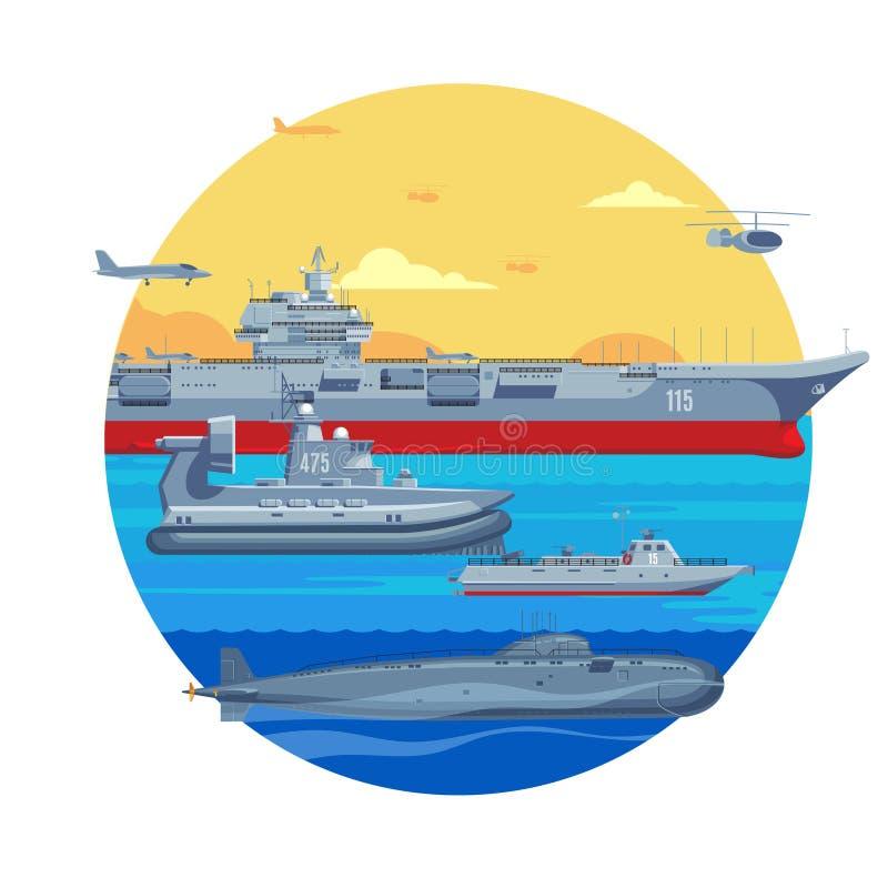 Militärboots-Schablone lizenzfreie abbildung