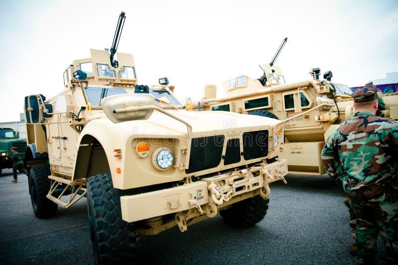 Militärfahrzeug stockfotografie