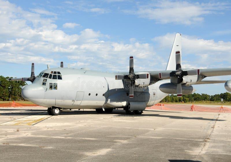 Militärfrachtflugzeug lizenzfreie stockfotografie