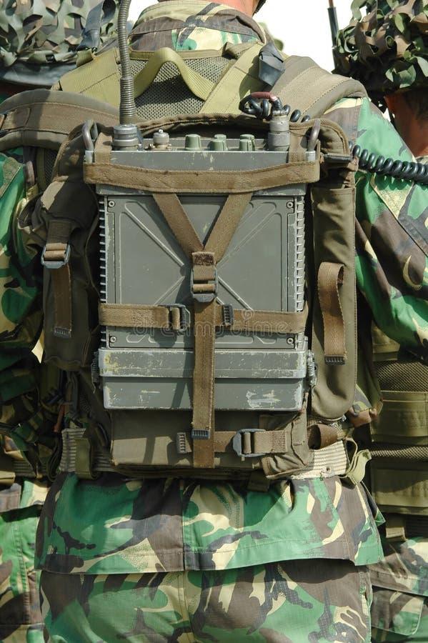 Militärfunk lizenzfreies stockfoto