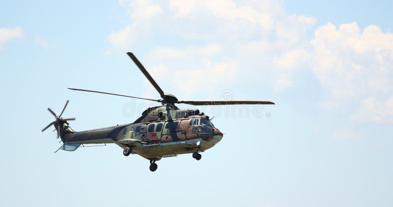 Militärhubschrauber stockfoto