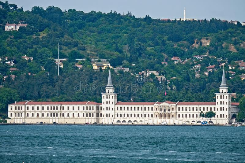 Militärische Highschool Kuleli in Uskudaar Istanbul lizenzfreie stockfotos