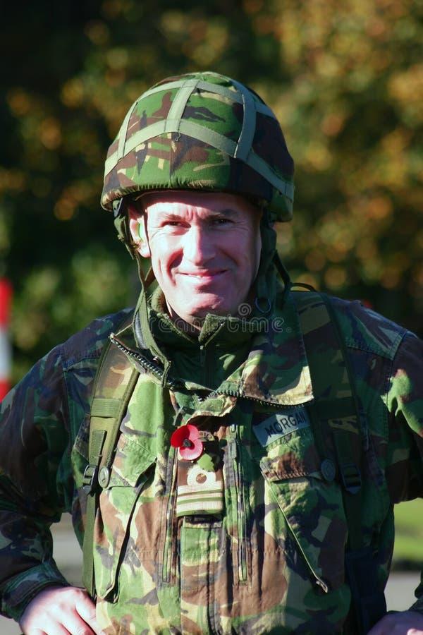 Militäroffizier lizenzfreie stockbilder