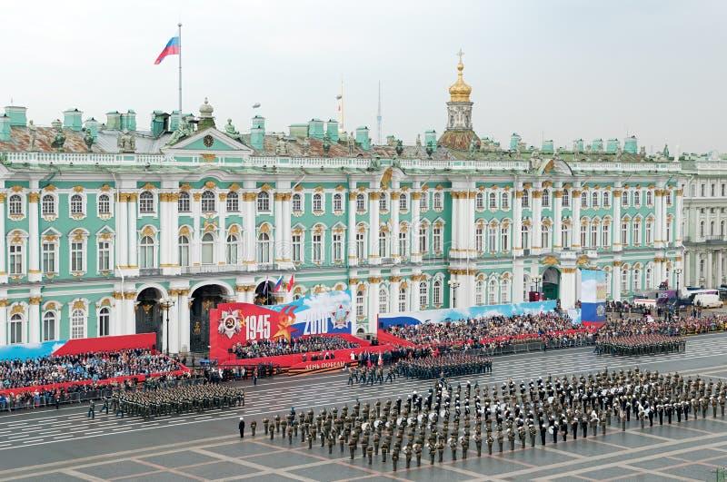 Militärsiegparade.