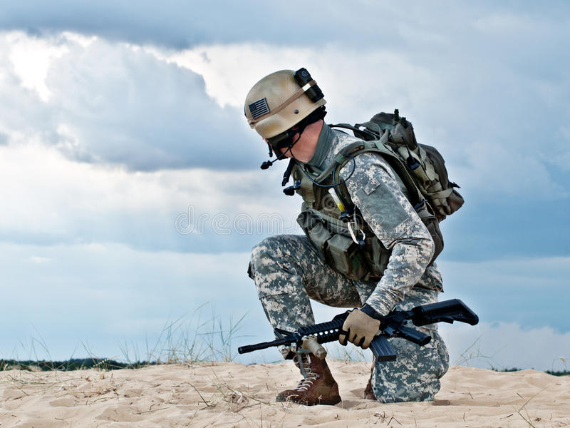 Militair stock afbeeldingen