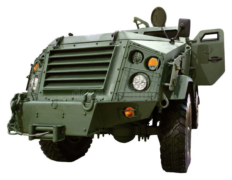 Militair bewapend voertuig stock fotografie