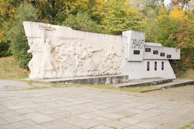 Militair Gedenkteken bij Fort nummer vijf royalty-vrije stock afbeelding