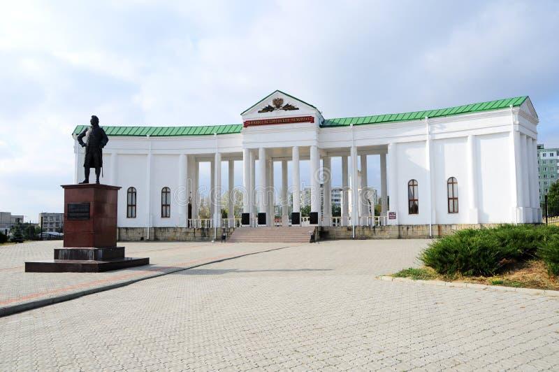 Militair-historische Herdenkings Complex in Buigmachine, Transnistria royalty-vrije stock fotografie
