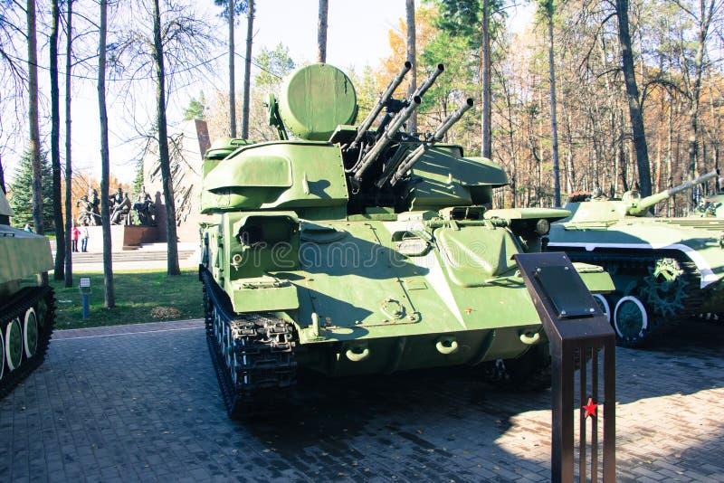 Militair kanon stock foto
