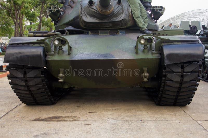 Militair spoor royalty-vrije stock foto