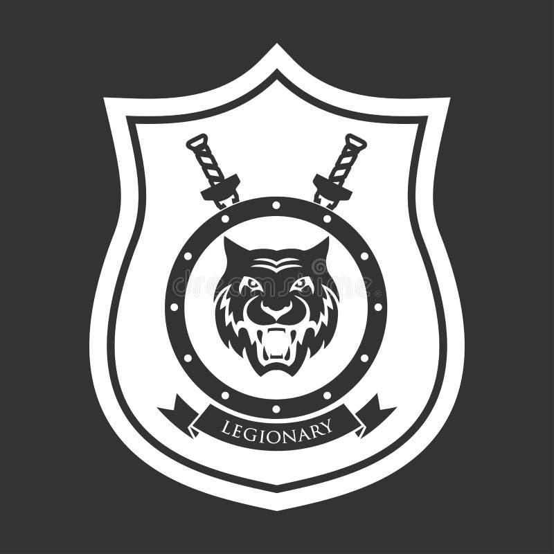 Militair symbool, legionair royalty-vrije illustratie