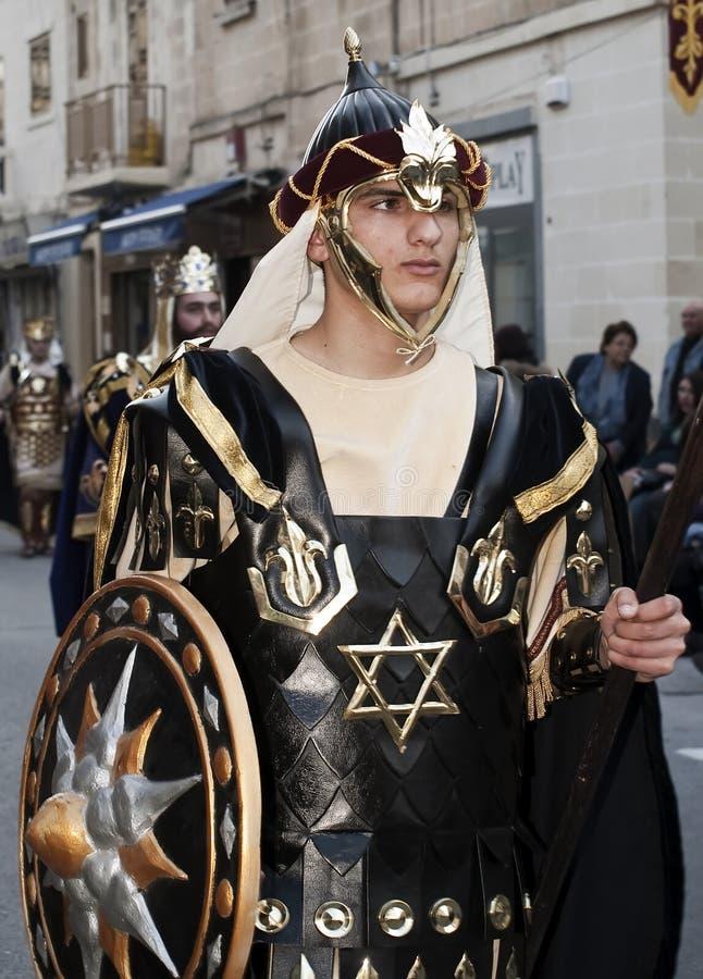 Militair van Judea stock afbeelding