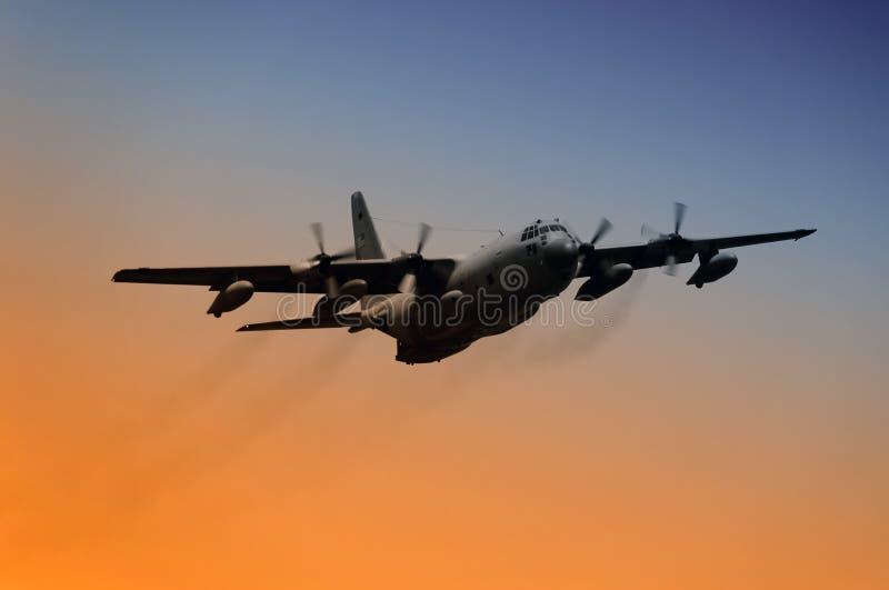 Militair vliegtuig stock foto's