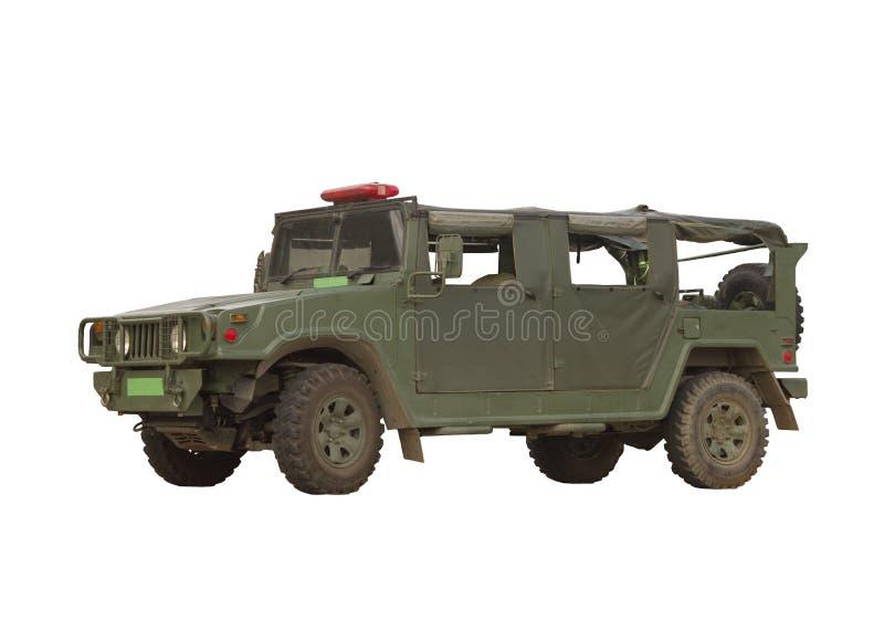 Militair voertuig royalty-vrije stock afbeelding