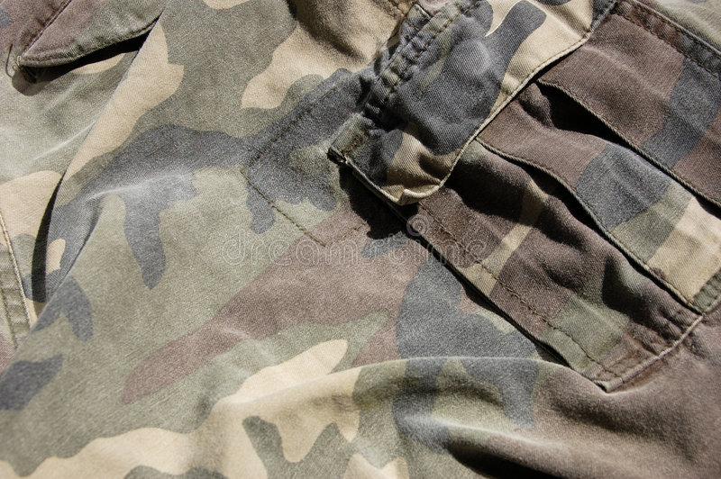 Militaire achtergrond royalty-vrije stock afbeelding