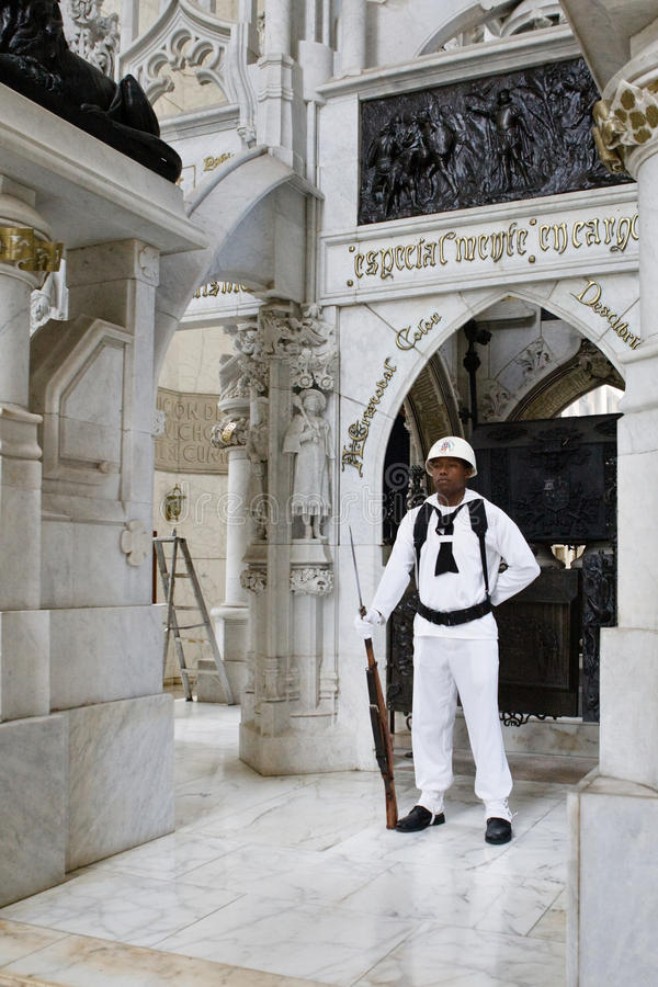 Militaire beschermer royalty-vrije stock afbeeldingen