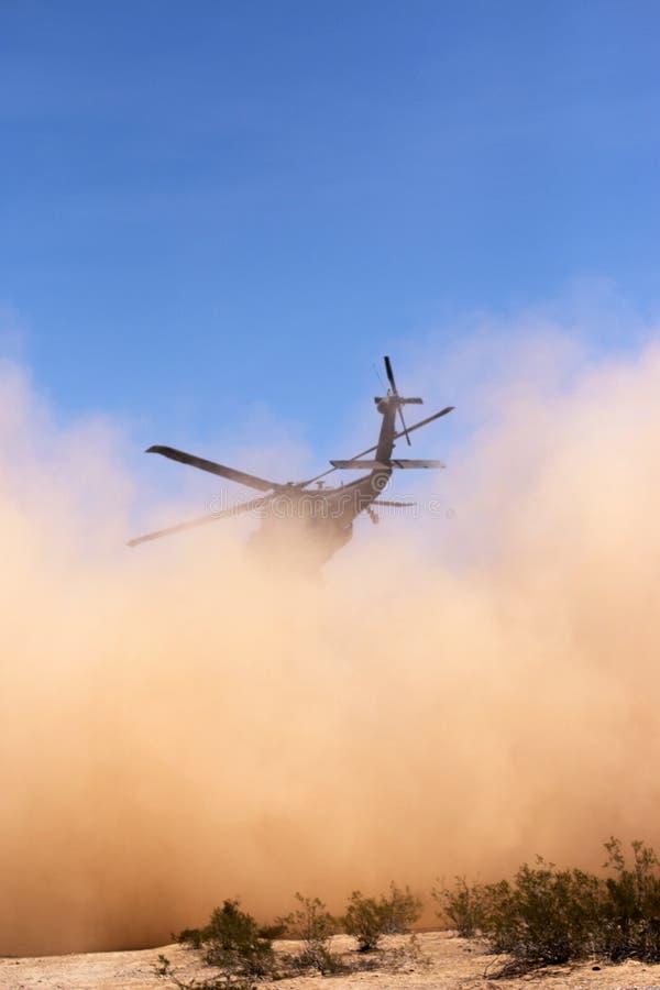Militaire Burgerlijke Verrichtingsoefening Angel Thunder stock foto's