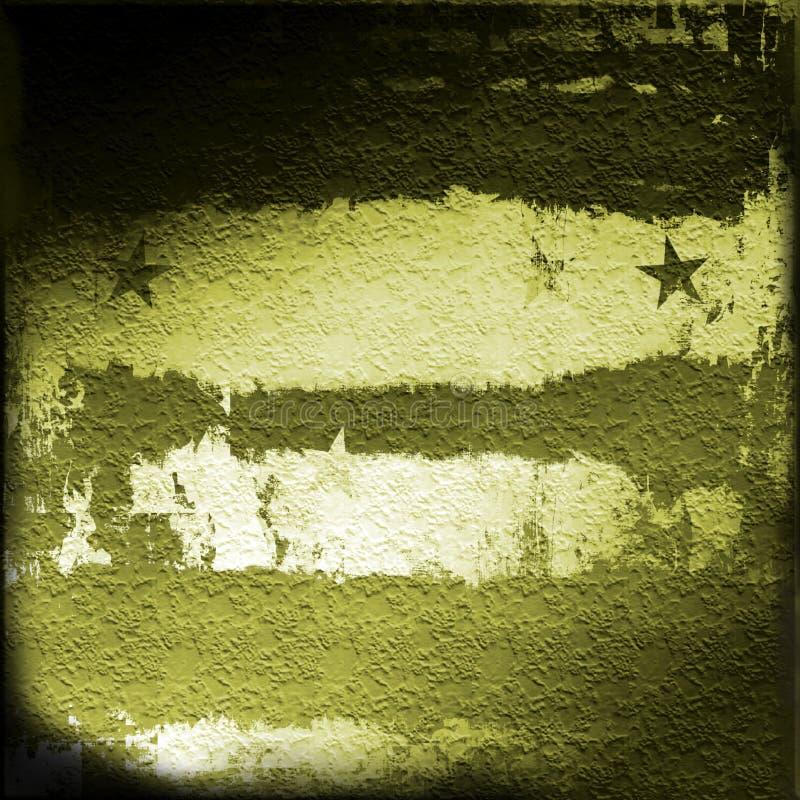 Militaire Grunge royalty-vrije illustratie