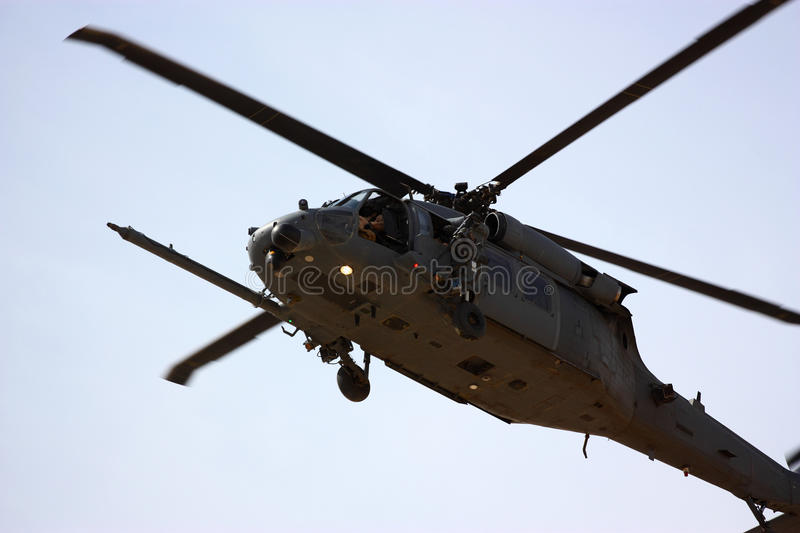 Militaire helikopter stock foto's