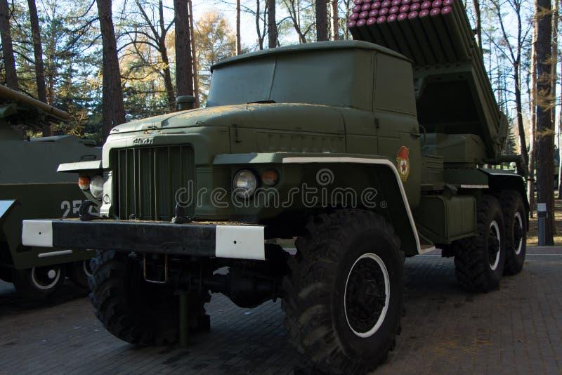 Militaire infanterie die vehicl vechten stock foto