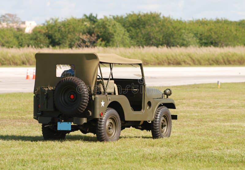 Militaire jeep stock foto's
