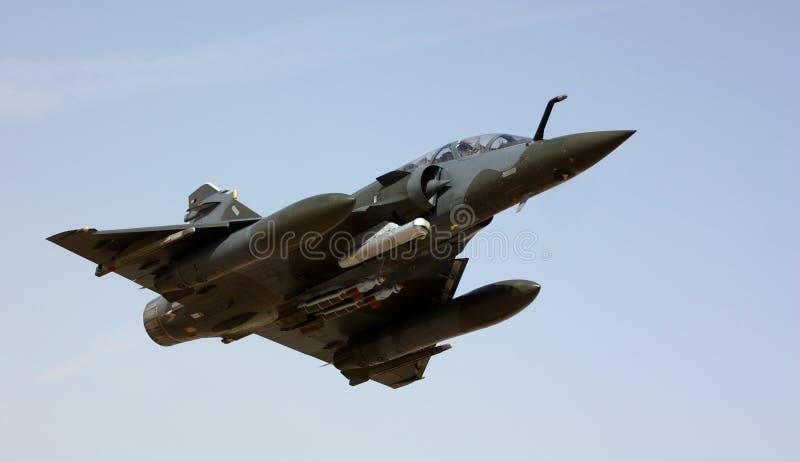 Militaire jet royalty-vrije stock afbeeldingen