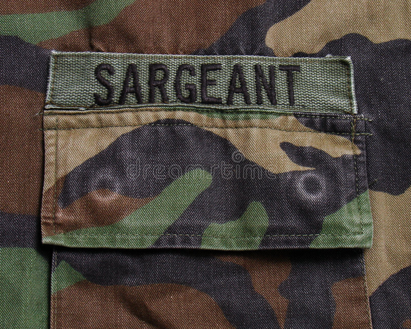Militaire markering royalty-vrije stock foto's