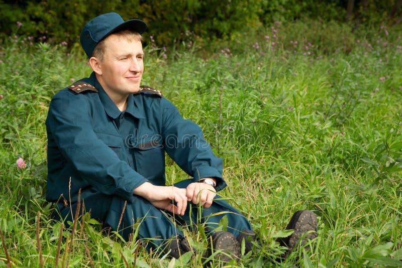 Militaire mens stock afbeeldingen