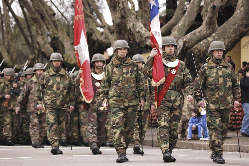 Militaire parade stock afbeeldingen