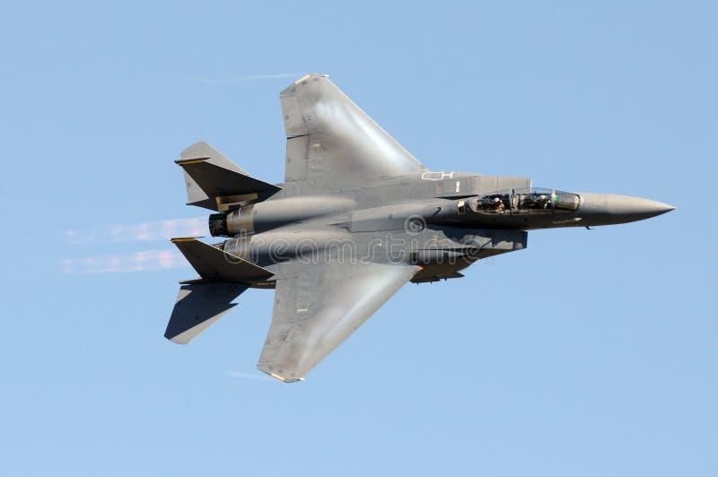 Militaire straalvechter royalty-vrije stock afbeelding