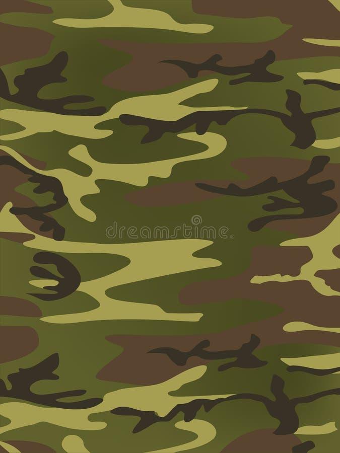 Militaire Textuur stock illustratie