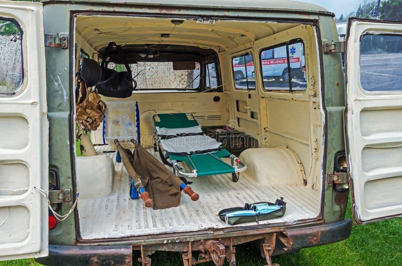 Militaires d'ambulance photographie stock