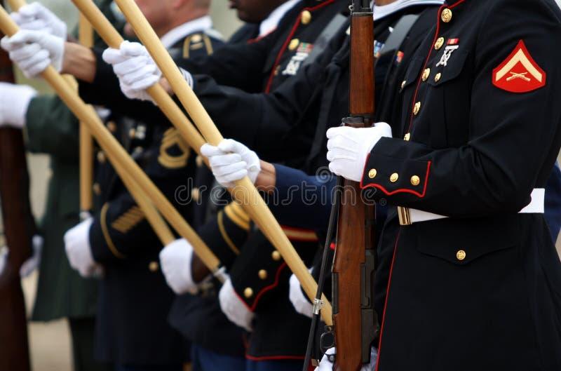 Militaires des Etats-Unis photo stock