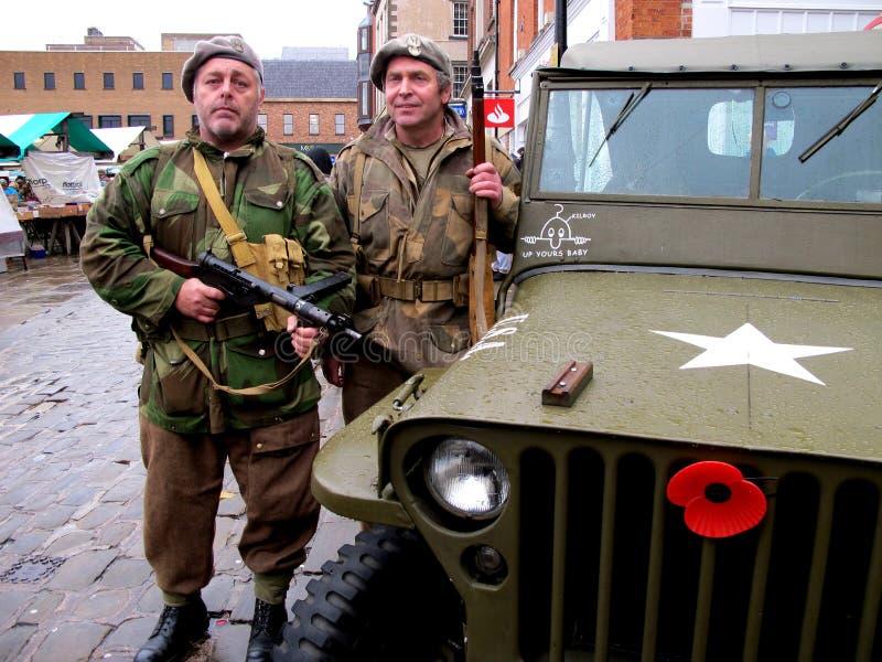 Militaires légers photo libre de droits