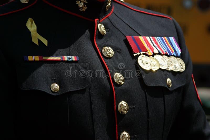 Militar fotografía de archivo