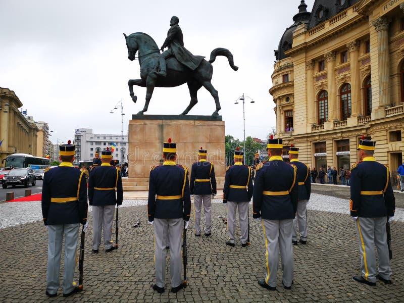 Militar do 30o protetor Regiment Michael o corajoso fotos de stock royalty free