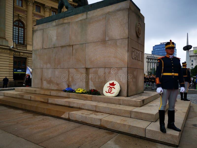 Militar do 30o protetor Regiment Michael o corajoso imagem de stock royalty free