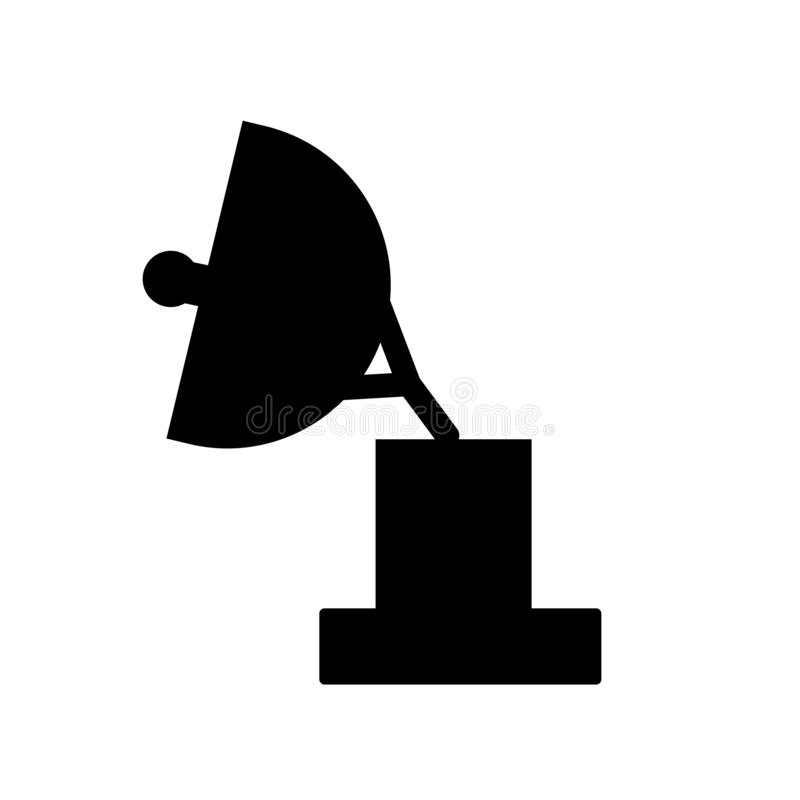 Militar Radar icon. Trendy Militar Radar logo concept on white b. Ackground from army and war collection. Suitable for use on web apps, mobile apps and print vector illustration