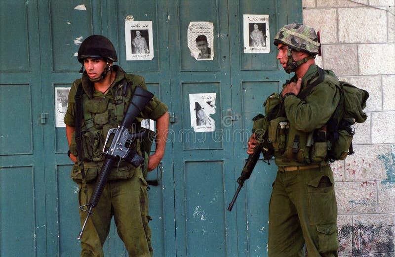 Militares israelíes imágenes de archivo libres de regalías