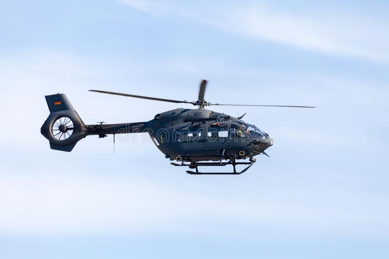 Militari tedeschi H145M da Airbus fotografia stock