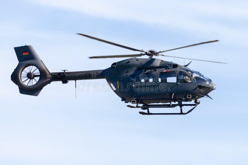Militari tedeschi H145M da Airbus immagini stock libere da diritti