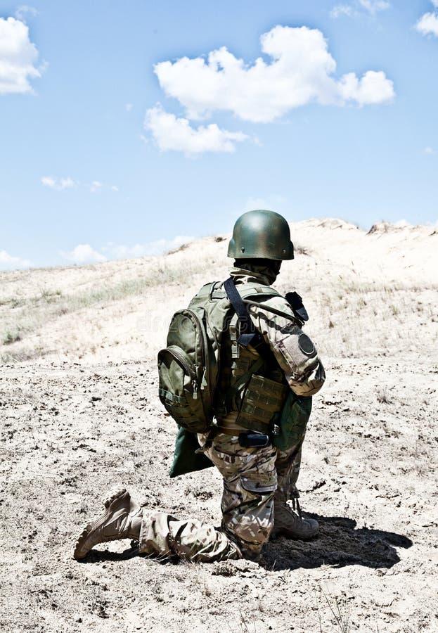 Militarna operacja zdjęcia stock