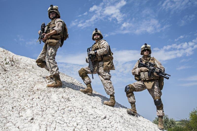 Militarna operacja obraz stock